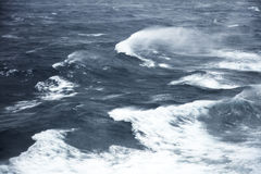 Rough seas. Very rough seas in mid ocean Royalty Free Stock Photography