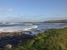Rough. Sligo Coast Ireland beauty sea stock photos