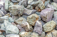 Rough stone background Stock Image