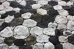 Rough stone floor Stock Image