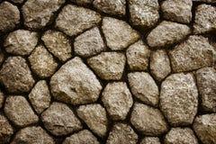 Rough stone masonry background Royalty Free Stock Images