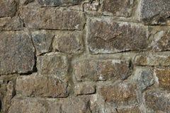 Rough stone masonry of wall Royalty Free Stock Photography