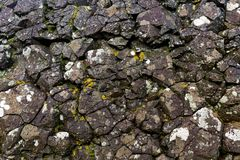 Rough stone texture. Close up photo of rough stone texture Royalty Free Stock Photos