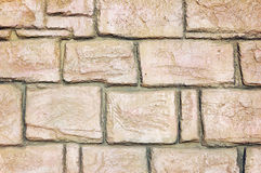 Rough stone wall Stock Photography