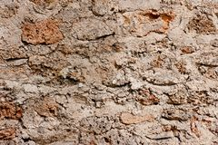 Rough Stone Wall Royalty Free Stock Photo
