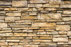 Rough Stone Wall Stock Image