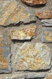 Rough stone wall background Royalty Free Stock Photo