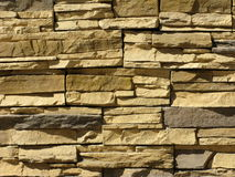 Rough stone wall background Royalty Free Stock Photography