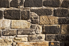 Rough Stone Wall Royalty Free Stock Photography
