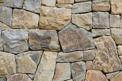 Rough stone wall texture Royalty Free Stock Photography