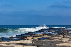 Deal New Jersey Jetty Royalty Free Stock Photos