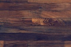 Rough surface of vintage wood texture. For background Stock Images