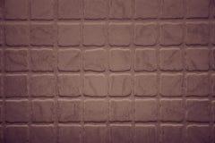 Rough terracotta tiles Stock Images