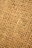 Rough textile close up Stock Photography