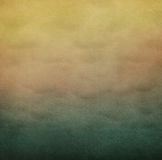 Rough texture. Bright yellow textured background of sky. Computer graphics Stock Photography