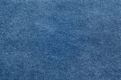 Rough texture of blue paper or fabric Stock Photos