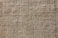 Rough texture of burlap, textile background closeup Royalty Free Stock Photos