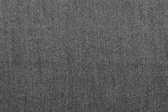 Rough texture denim fabric monochrome background of gray color Royalty Free Stock Images