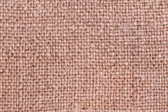 Rough texture of jute burlap fabric Stock Photos
