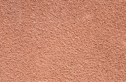 Rough texture plastered wall Stock Image