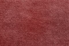 Rough texture of red paper or fabric Royalty Free Stock Image