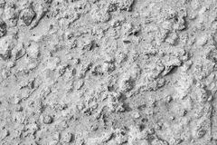 Rough texture surface concrete of gray color Royalty Free Stock Image