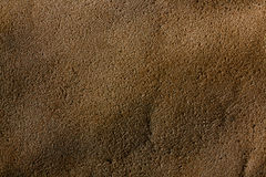 Rough texture of untreated leather Stock Photos