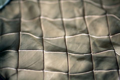 Rough texture of untreated leather Stock Photography