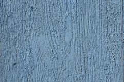 Wood board rough texture painted in blue Stock Images