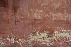 Rough textured background red old cement wall with Royalty Free Stock Image