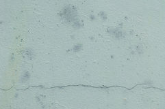Rough textured blue wall Stock Photography