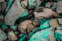 Rough textured rigid geographical rocks royalty free stock image