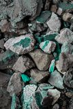 Rough textured rigid geographical rocks stock images