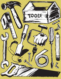 Rough Tools Stock Photo