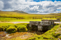 Rough Tor Bodmin Moor Cornwall Stock Photography