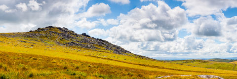 Rough Tor Bodmin Moor Cornwall. Rough Tor on Bodmin Moor is the second highest point in Cornwall England UK Europe Stock Images