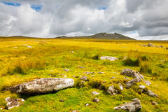 Rough Tor Bodmin Moor Cornwall Royalty Free Stock Photography