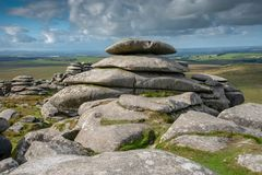 Rough Tor on Bodmin Moor royalty free stock image