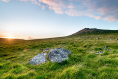 Rough Tor on Bodmin Moor Stock Photography