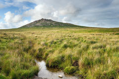 Rough Tor in Cornwall Stock Photography