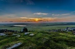 Free Rough Tor Sunset Royalty Free Stock Image - 56904176