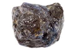 Rough uncut sapphire Stock Image