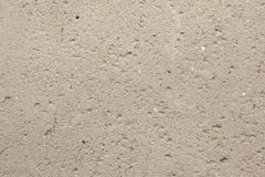 Rough unpainted concrete wall. Royalty Free Stock Photos