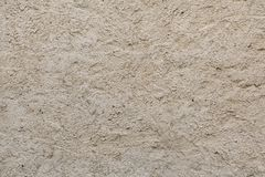 Rough unpainted concrete wall. Background texture Royalty Free Stock Photography
