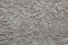 Rough unpainted concrete wall. Background texture Stock Photo