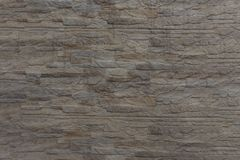 Rough wall grey stone blocks texture. Architectural details stock photography
