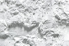 Rough wall plaster texture. White color wallpaper stock photography