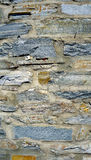 Rough wall stone texture vertical Stock Image