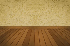Rough wall wood floor  background Stock Photo