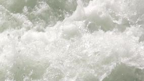 Rough water of the Kaituna River stock video footage
